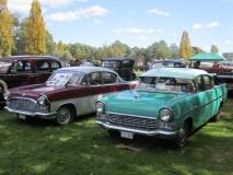 1958-Green-Vauxhall-Cresta-Bob-Judd.-1962-Maroon-Vauxhall-Cresta-Gerry-Walker
